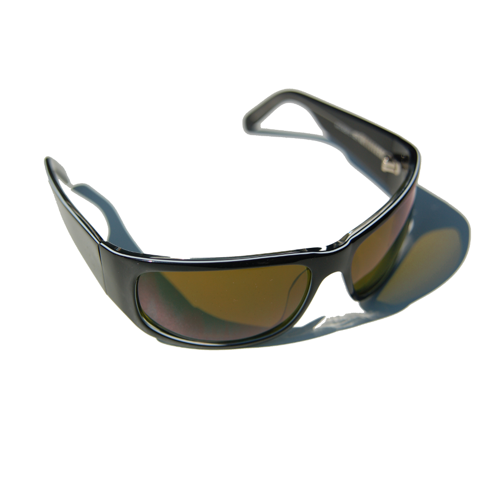 CARUSO Sonnenbrille 460nm CR2872PP Panther Fash Pilot UHD Filter braun