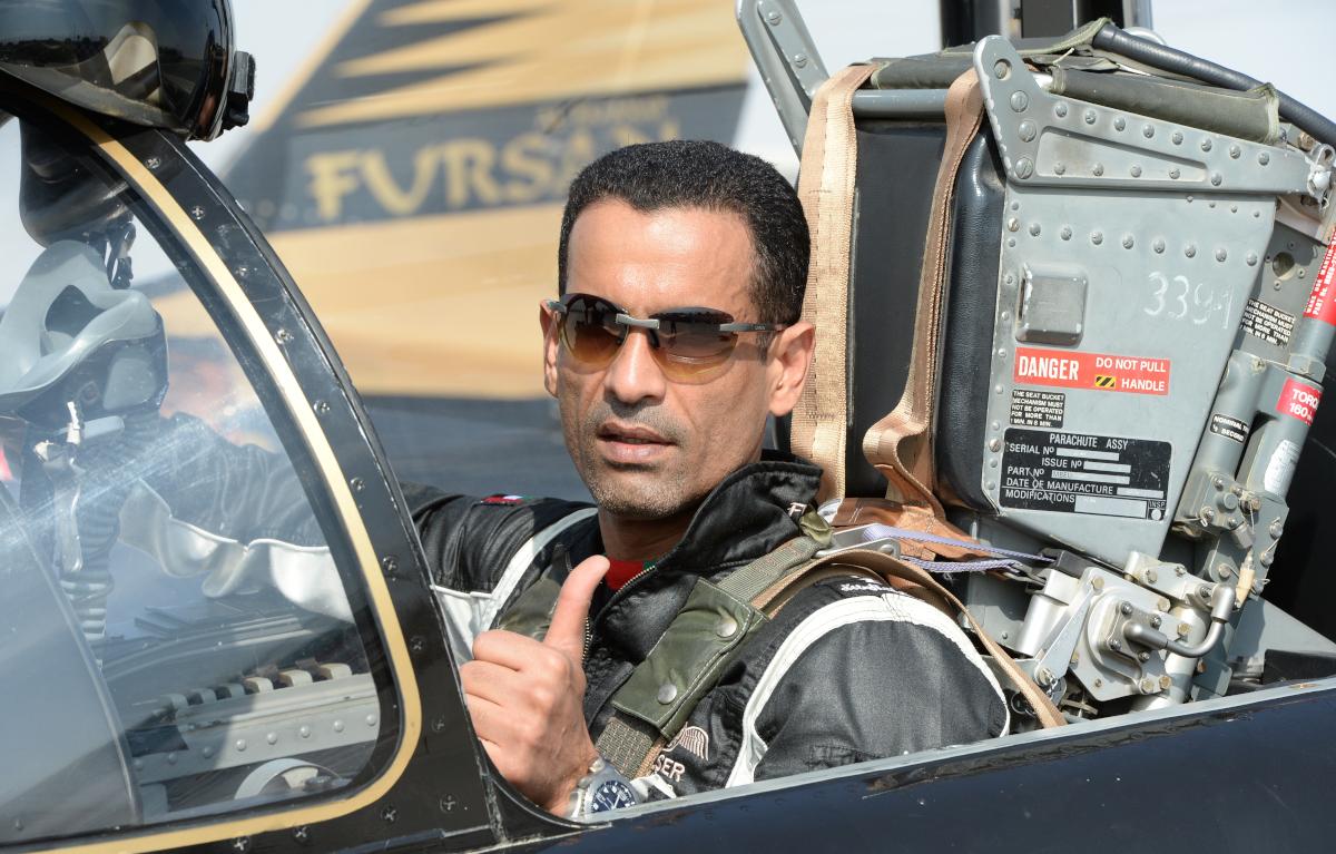Col.Nasser Abmed Pilotensonnenbrillen Sonnenschutz Augenschutz Fursan  Cokpit